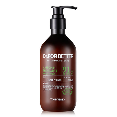 [Tonymoly] Dr.FOR BETTER Catechin Treatment 300ml