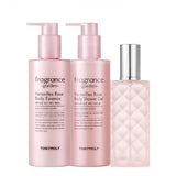 [Tonymoly] Fragrance Garden Body Set 300ml+300ml+120ml