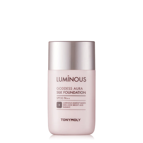 [Tonymoly] Luminous Goddess Aura Silk Foundation 45ml