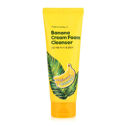 [Tonymoly] Magic Food Banana Cream Foam Cleanser 150ml - Cosmetic Love