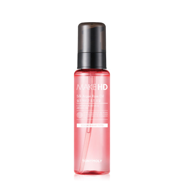 [Tonymoly] Make HD Silk Argan Oil_Rose 85ml - Cosmetic Love