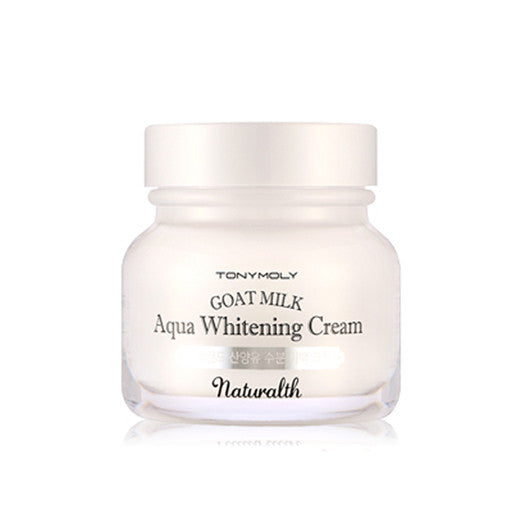 [Tonymoly] Naturalth Goat Milk Aqua Whitening Cream 60ml - Cosmetic Love