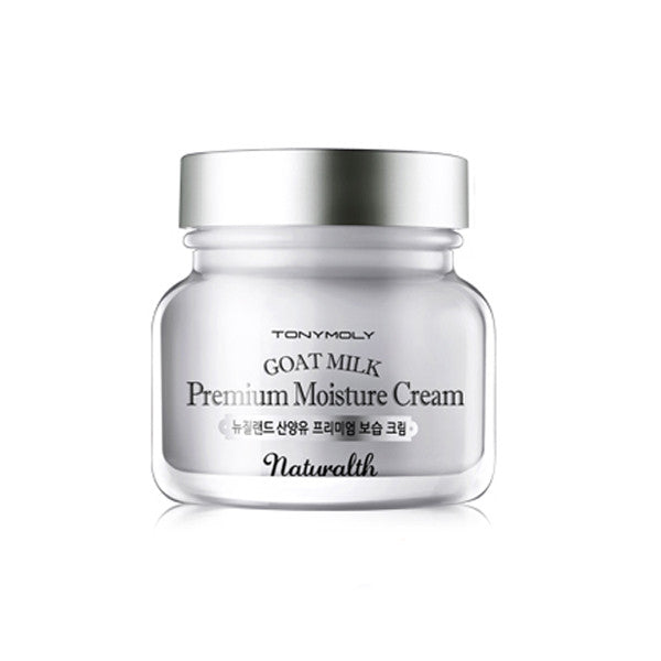 [Tonymoly] Naturalth Goat Milk Premium Moisture Cream 60ml - Cosmetic Love
