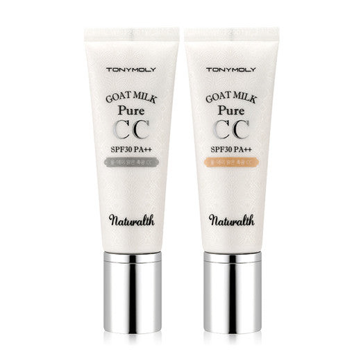 [Tonymoly] Naturalth Goat Milk Pure CC SPF30/ PA++ 40g - Cosmetic Love