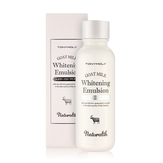 [Tonymoly] Naturalth Goat Milk Whitening Emulsion 150ml - Cosmetic Love