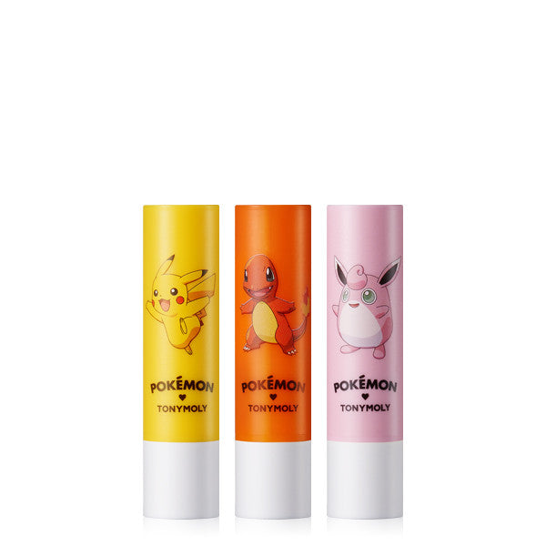 [Tonymoly] POKEMON Lip Care Stick 3.3g - Cosmetic Love