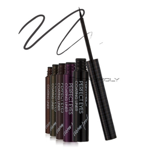 [Tonymoly] Perfect Eyes Coating Liner Waterproof 2.4ml - Cosmetic Love