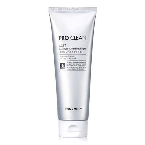 [Tonymoly] Pro Clean Soft Moisture Cleansing Foam 150ml - Cosmetic Love