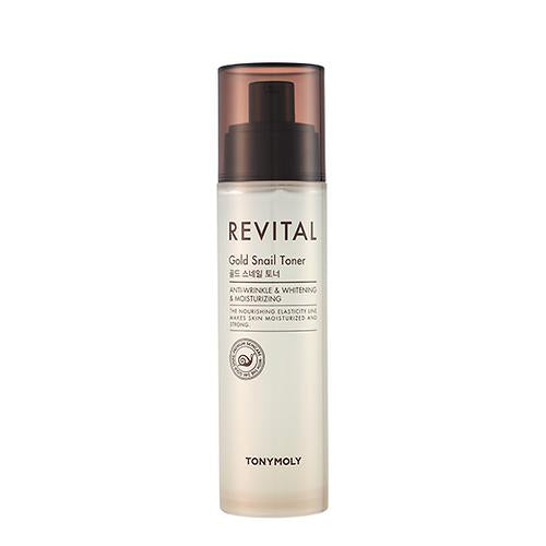 [Tonymoly] Revital Gold Snail Toner 140ml