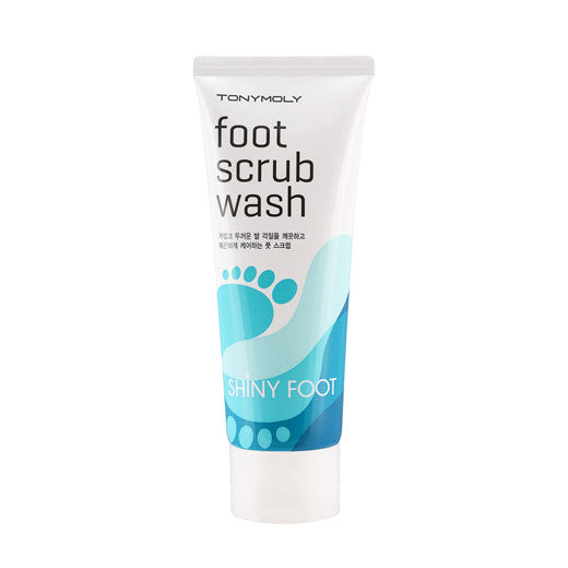 [Tonymoly] Shiny Foot Scrub Wash 100ml - Cosmetic Love