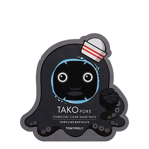 [Tonymoly] Tako Pore Charcoal Clear Mask Pack 20g