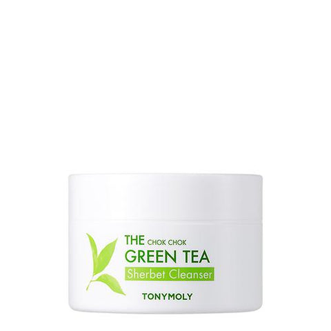 [Tonymoly] The Chok Chok Green Tea Sherbet Cleanser 85g