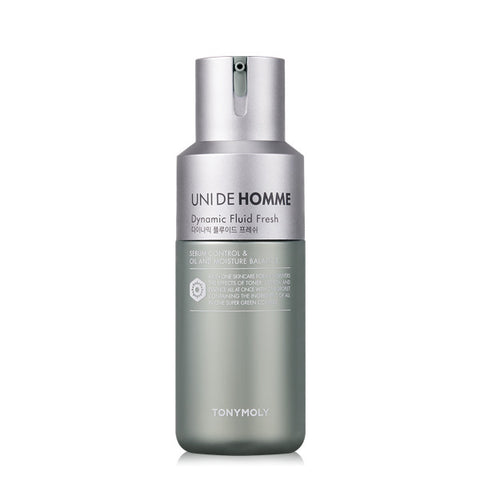 [Tonymoly] UNI DE HOMME Dynamic Fluid Fresh 150ml