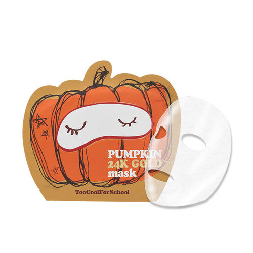 [TooCoolForSchool] Pumkin 24K Gold Mask - Cosmetic Love