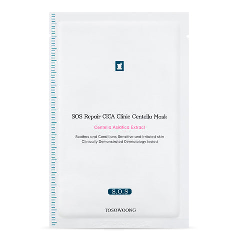 [Tosowoong] Cica Clinic SOS Repair Mask 10sheets