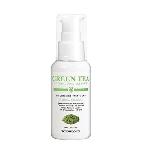 [Tosowoong] Green Tea Eco Brightening Essence (Dual-functional in Whitening and Anti-Wrinkle) 60ml