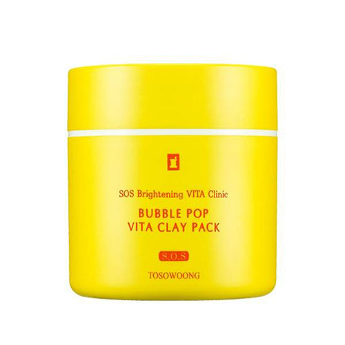 [Tosowoong] SOS Brightening Vita Clinic Bubble Pop Vita Clay Pack 50g