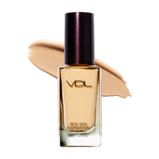 [VDL] Real Skin Foundation 30ml - Cosmetic Love