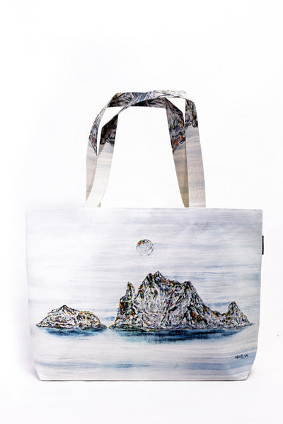 [WOOTARK] Dokdo, A Beautiful Island of Korea_12_Eco Bag (wide) - Cosmetic Love
