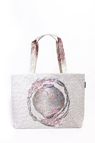 [WOOTARK] The place where you are yearning_03_Eco Bag (wide) - Cosmetic Love