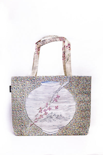 [WOOTARK] The place where you are yearning_04_Eco Bag (wide) - Cosmetic Love