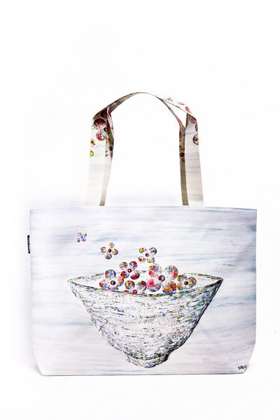 [WOOTARK] The yearnings bloom_Eco Bag (wide) - Cosmetic Love