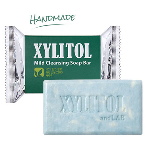 [andLAB] Xylitol Mild Cleansing Soap Bar 100g