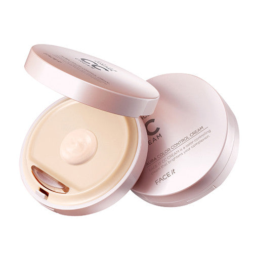 [The Face Shop] Face it Aura CC Cream - Cosmetic Love