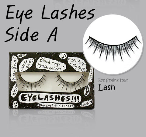 [Too Cool For School] Eye Lashes Side A 3 Type - Cosmetic Love