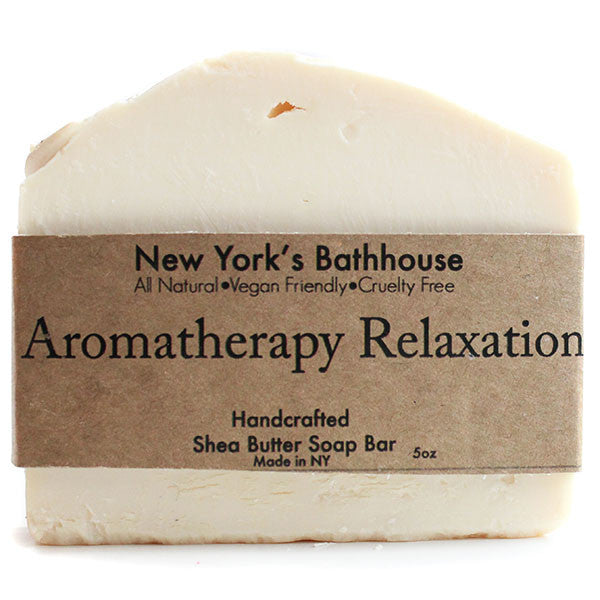 Aromatherapy Relaxation Soap Bar - New York's Bathhouse