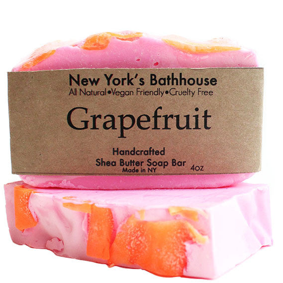 Grapefruit Soap Bar - New York's Bathhouse