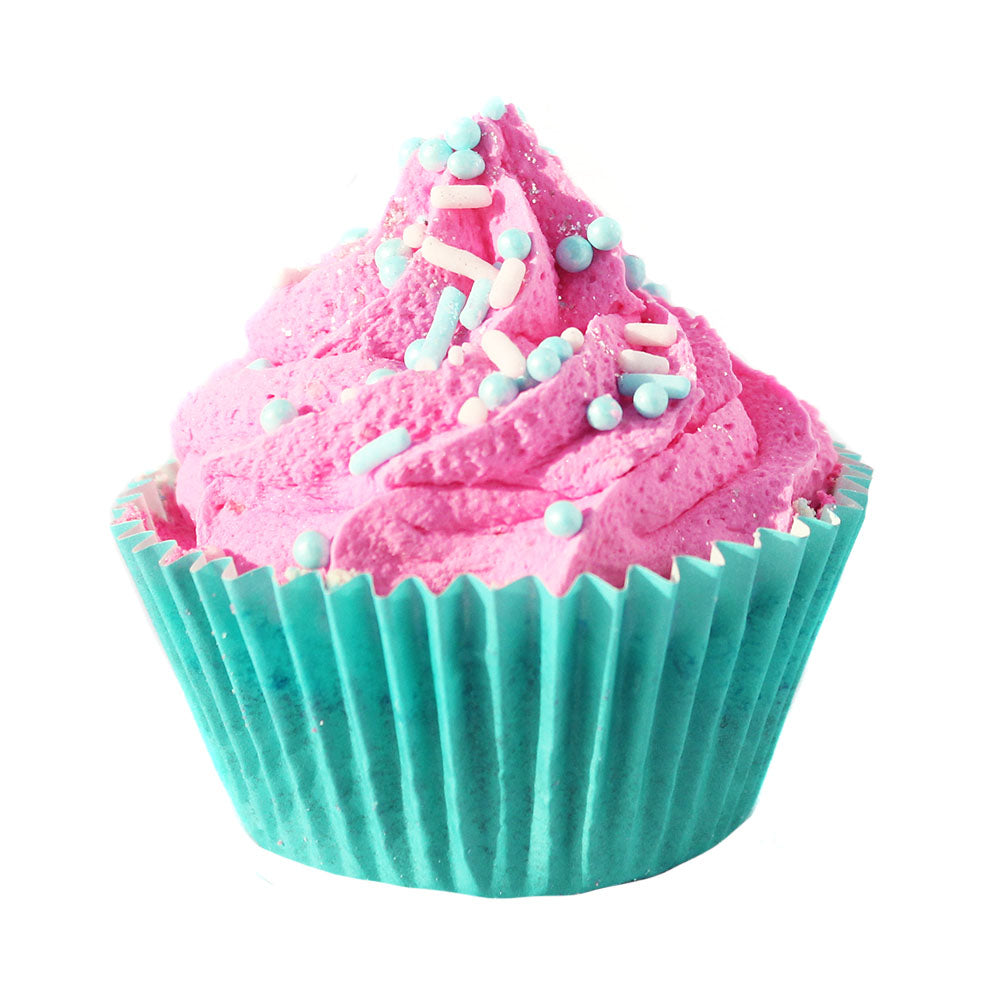 Cotton Candy Cupcake Bath Bomb - New York's Bathhouse