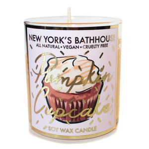 Pumpkin Cupcake Candle - New York's Bathhouse