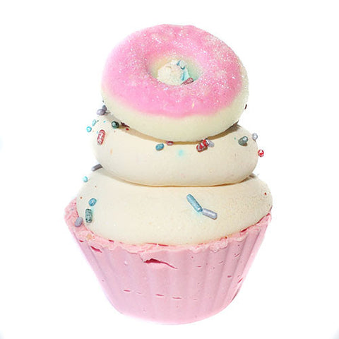 Jelly Donut Cupcake Soap