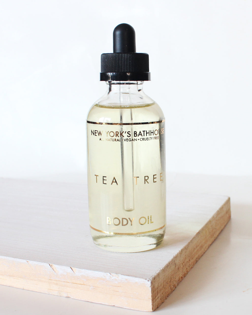 Essential- Tea Tree Body Oil - New York's Bathhouse
