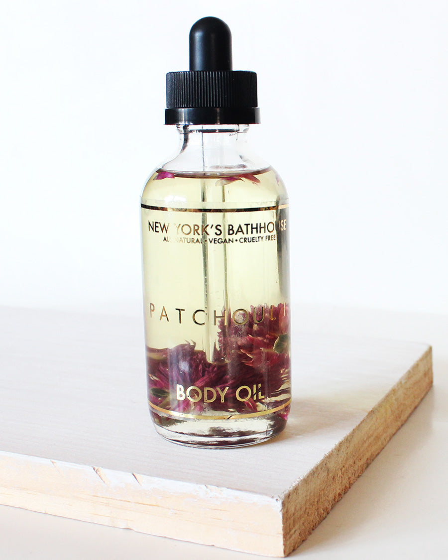 Essential- Patchouli Body Oil - New York's Bathhouse