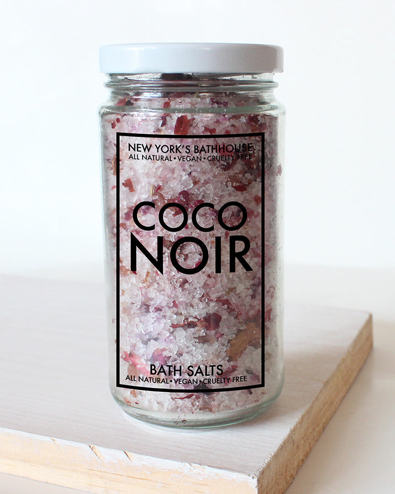 Coco Noir Perfume Bath Salts - New York's Bathhouse