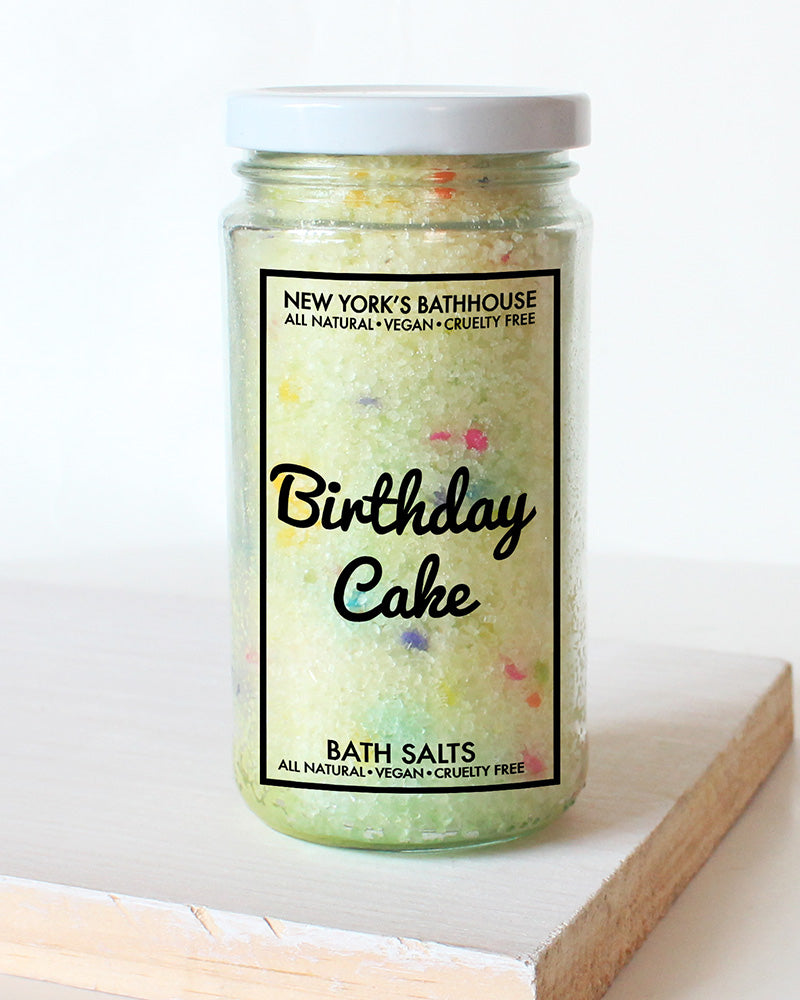 Birthday Cake Bath Salts - New York's Bathhouse