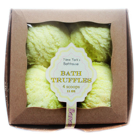 Banana Bubble Bath Truffles