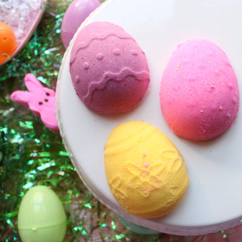 Egg Hunt Bath Bombs