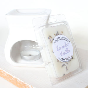 Lavender Vanilla Soy Wax Tarts - Set - New York's Bathhouse