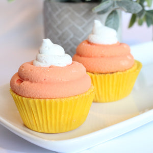 Candy Corn Cupcake Bath Bomb - New York's Bathhouse