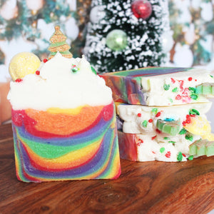 Limited Edition Hippy Christmas Seasonal Soap Bar - New York's Bathhouse