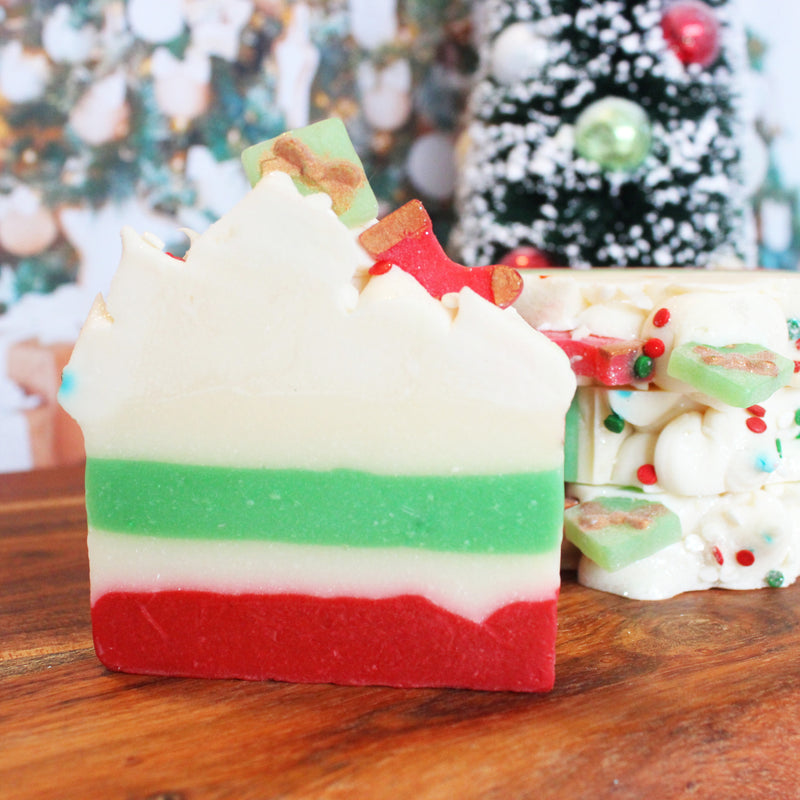 Santa's Workshop Christmas Soap Bar Soap Bar - New York's Bathhouse
