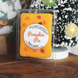 Pumpkin Pie Soy Wax Melts Cubes - New York's Bathhouse