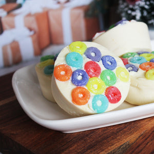 Fruit Loops Cereal Shea Butter Soap Bar - New York's Bathhouse