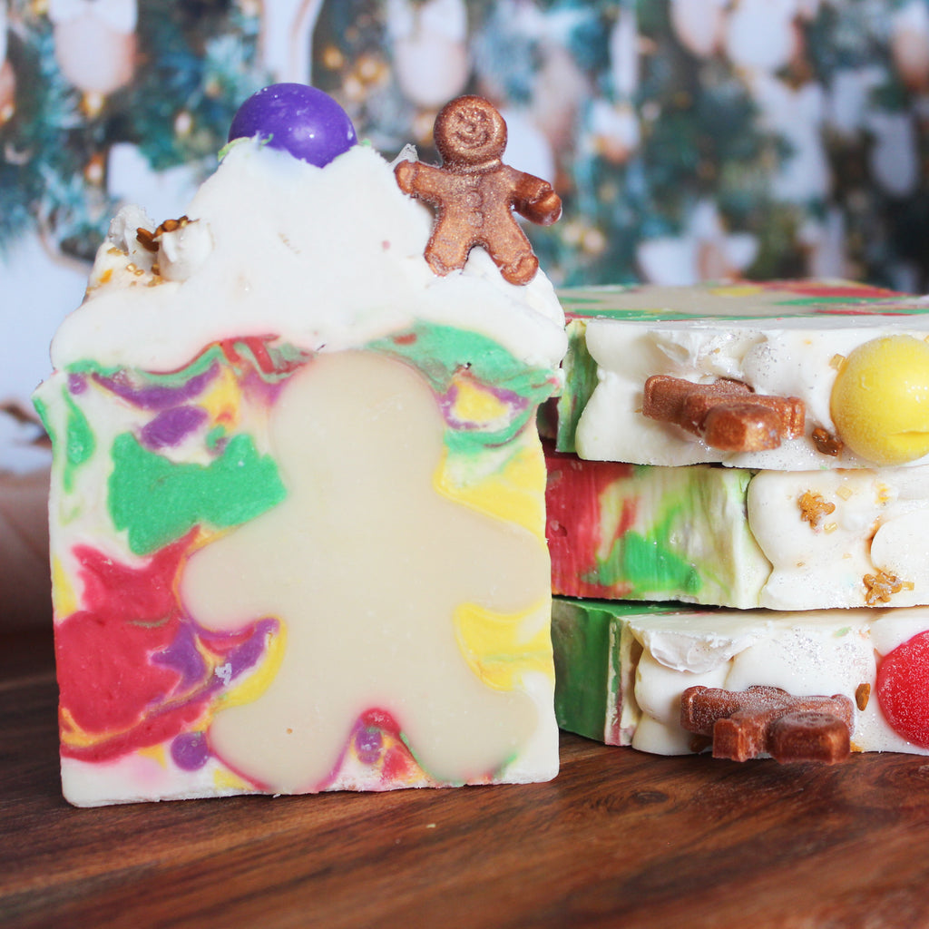 Gingerbread Man Fragrance Soap Bar - New York's Bathhouse