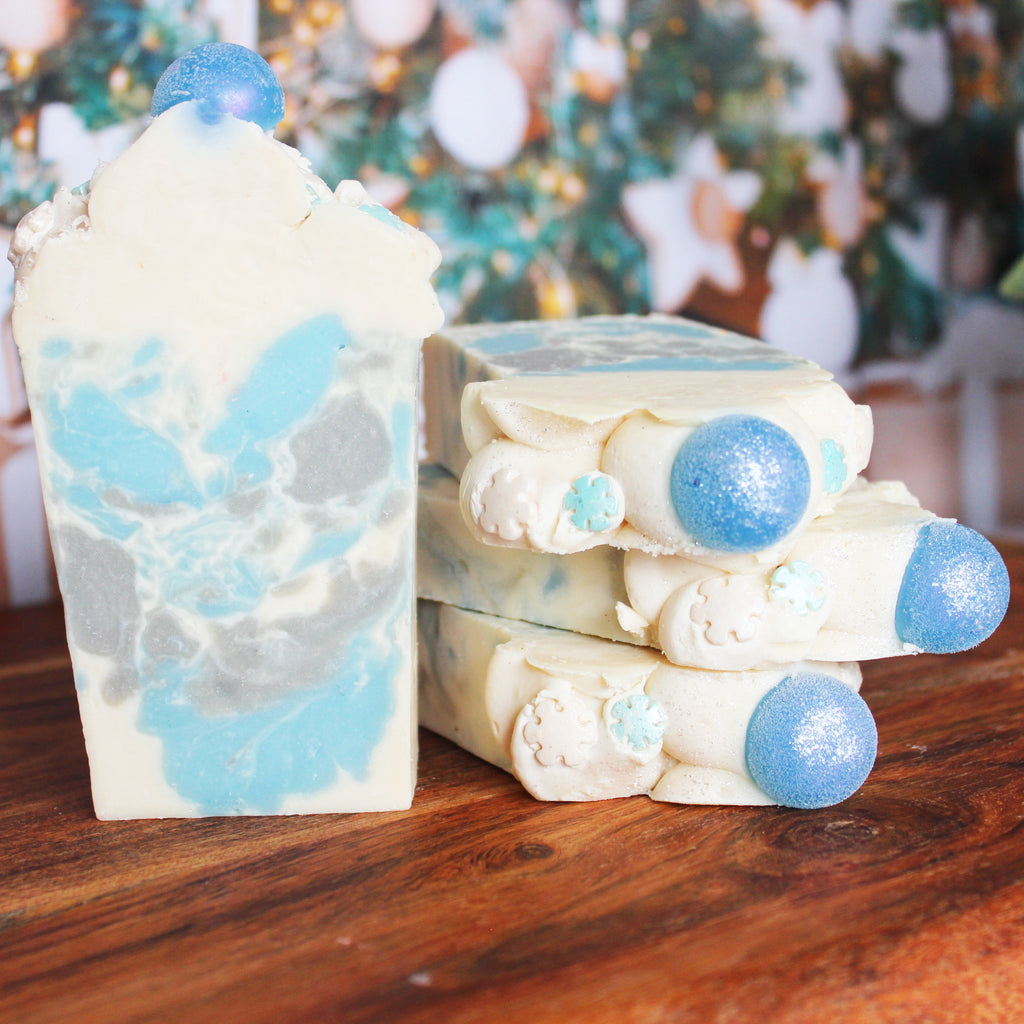 Frosted Snow Soap Bar Soap Bar - New York's Bathhouse