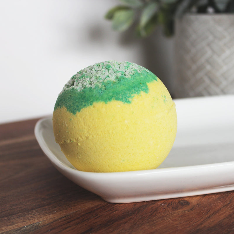 Lemongrass Essential Oil  Bath Bomb - New York's Bathhouse