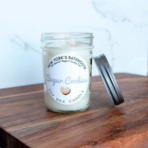 Sugar Cookies Soy Wax Candle - New York's Bathhouse